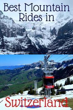 10 Best Mountain Rides in Switzerland – A Breathtaking Journey up the Alps! Switzerland things to do swiss alps Europe Travel Tips, European Travel, Travel Destinations, Swiss Travel, Travel Hacks, Travel Packing, Travel Advice, Travel Guides, Switzerland Vacation