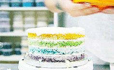 How to Make the Best Ever Rainbow Cake!
