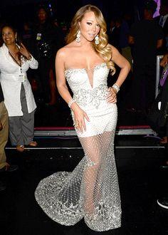 Mariah Carey at the 2013 BET Awards