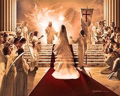 The Wedding Feast Of Lamb Marriage Supper Bride Christ