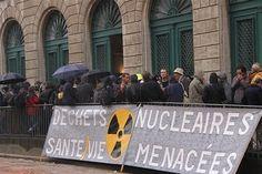 Nucléaire - EPR et THT Cherbourg : le tribunal relaxe trois militants antinucléaires
