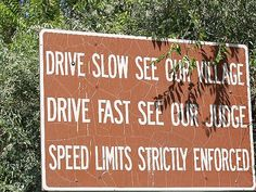 Slow or speed