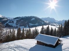 Above Gstaad