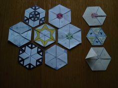 hexaflexagons.