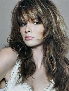 20 Long Layered Haircuts With Bangs Trendy Hairstyles For Long 30 Best Curly Hair With Bangs Medium Hair Styles Top 10 Layered Curly Hair Ideas For 2020 40 Cute Layered Haircuts With Bangs, Curly Hair With Bangs, Short Hair With Layers, Long Curly Hair, Hairstyles With Bangs, Trendy Hairstyles, Hair Bangs, Layered Hairstyles, Long Bangs