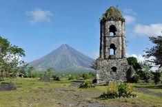 Vulcão Mayon, nas Filipinas