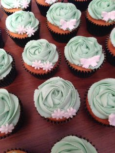 MacMillan fundraiser cupcakes