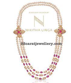 Pearls Long Chain by Nikitha Linga