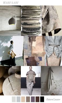 WABI SABI by PatternCurator another nick qu'elle surprise what a parasite. Colour Schemes, Color Trends, Color Patterns, Color Combos, Pinterest Trends, Pinterest Design, Wabi Sabi, Pantone, Jolie Photo
