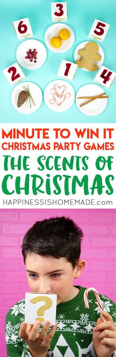 Christmas Minute to Win It Games – Happiness is Homemade