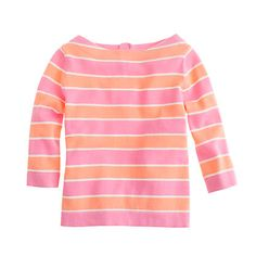 Girls' button-back popover