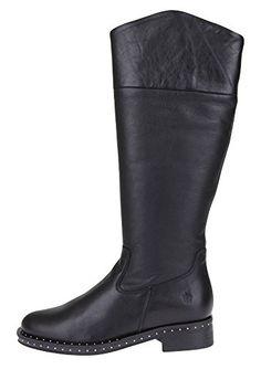 APPLE OF EDEN Damen Lederstiefel JOLIE - Stiefel für frauen (*Partner-Link)