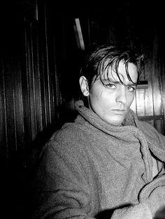 "wehadfacesthen: "" Alain Delon on the set of Plein Soleil / Purple Noon, 1960 """