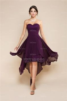 http://www.weddingstuff2014.com A-Line/Princess Strapless Sweetheart Chiffon Prom Dress - IZIDRESS.com at IZIDRESS.com