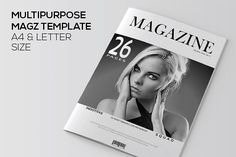 InDesign Magazine Template by Indotitas on @creativemarket
