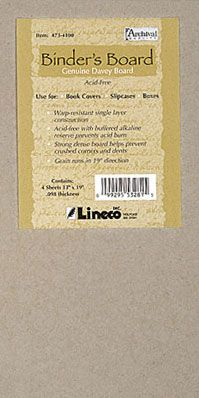 Lineco Acid-Free Binder's Board -