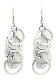 Oasis cascade earrings.