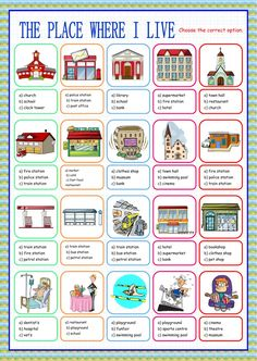 Places in the city interactive and downloadable worksheet. Check your answers online or send them to your teacher.