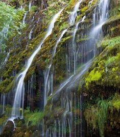 Asturias. Cascada en Somiedo