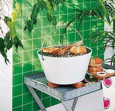 Ideas para el fin de semana... Desayunos originales... Barbacoa al fresco