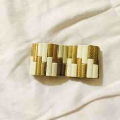 Free White & Gold Bracelet