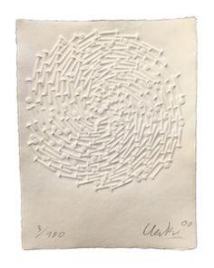 Spirale (klein) by Günther Uecker