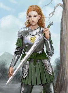 Emma in Armour by dashinvaine.deviantart.com on @DeviantArt