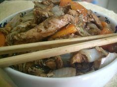 Frango Chinês Com Legumes em Tempos de Copa | Aqui na Cozinha