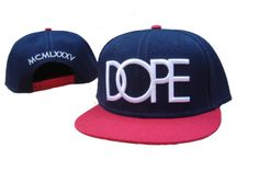 Dope snapback hats 6 Navy Pink