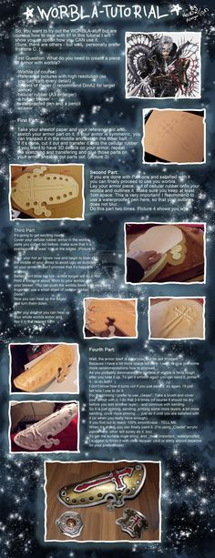 Worbla Armor Tutorial by ~Astargor on deviantART