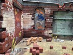Walking Dead Diorama.