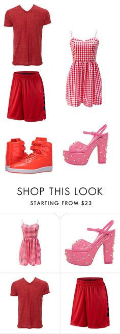 """""""Untitled #310"""" by kassidyrobinson on Polyvore featuring Moschino, NIKE and Puma"""