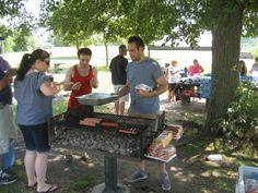 Scott - the grill master!!