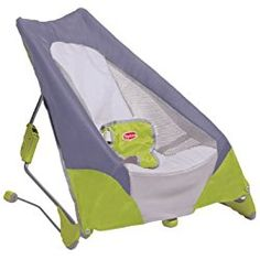 03b7f67ae35 Vee Bee Serenity Green Infant Baby Bouncer Chair  Seat  Bouncing  Rocking   Newborn
