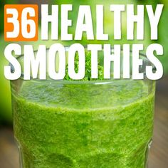 I love making super smoothies. They're packed with vitamins and minerals. These smoothies make a great after workout snack or meal replacement…