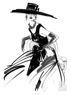 Fashion illustration anabel mode illustration chanel kunst chanel print mode wandkunst etsy source by demetcagan fashion art Art And Illustration, Fashion Illustration Sketches, Fashion Design Sketches, Vintage Fashion Sketches, Design Illustrations, Arte Fashion, Ideias Fashion, Fashion Fashion, Paper Fashion