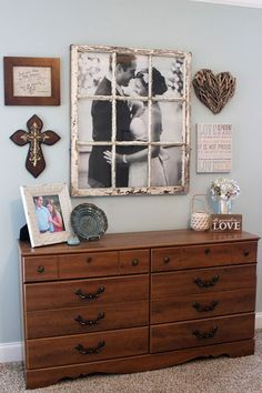Love and Marriage Gallery Wall  - CountryLiving.com