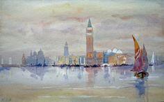Hercules Brabazon Brabazon - Venice from the Bacino