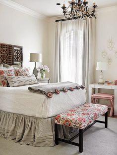 7 quartos lindos e uma dica legal http://decoracaoeinvencao.blogspot.com.br/