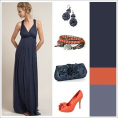 Another possible color scheme for the wedding