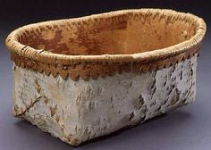 New basket weaving birch bark ideas Basket Weaving, Hand Weaving, Birch Bark Baskets, Birch Bark Crafts, Baby Shower Baskets, Blanket Storage, Diy Baby Gifts, Native American Crafts, Nativity Crafts