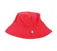 Hat Dots Red - Kik-Kid