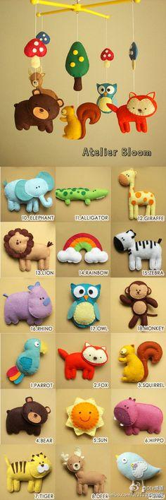 New baby diy toys felt Ideas Kids Crafts, Baby Crafts, Felt Crafts, Fabric Crafts, Sewing Crafts, Sewing Projects, Craft Projects, Felt Projects, Nursery Crafts