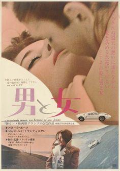 Un Homme et Une Femme, 1966.