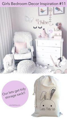 girls bedroom decor inspiration