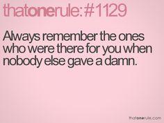 always remember...I do!