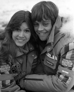 Carrie Fisher, Star Wars Cast, Leia Star Wars, Mark Hamill, Han And Leia, Star War 3, The Empire Strikes Back, Light Of My Life, Luke Skywalker