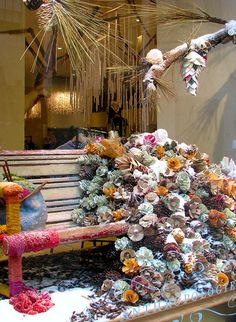 Rockefeller Center coral reef display at Anthro