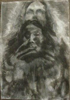 JOHANNA KALLiOiNEN Charcoal and Ink on Paper