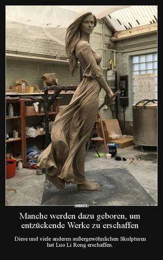 Resultado de imagem para sculpture [by artist: Luo Li Rong] Sculpture Clay, Bronze Sculpture, Art Sculptures, Statue Ange, Sculpture Romaine, Keramik Design, Oeuvre D'art, Art And Architecture, Home Art